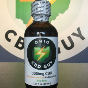 3000mg Ohio CBD Guy Terpine Enhanced Full Spectrum Mild Mint
