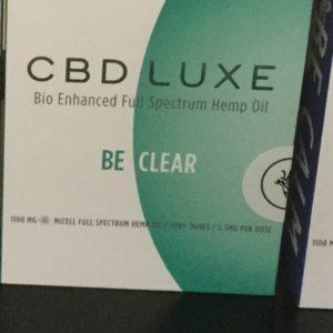 CBD Luxe Be Clear Full Spectrum Inhaler 1100mg