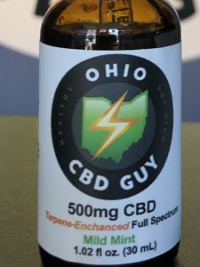 Ohio CBD Guy 500mg Full Spectrum