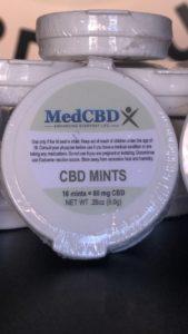 Med CBD Full Spectrum Mints 80mg
