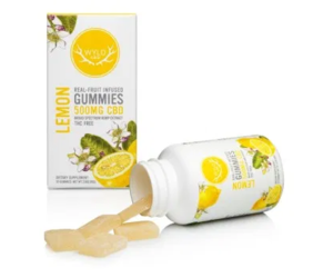 Wyld CBD Lemon Gummies 500mg